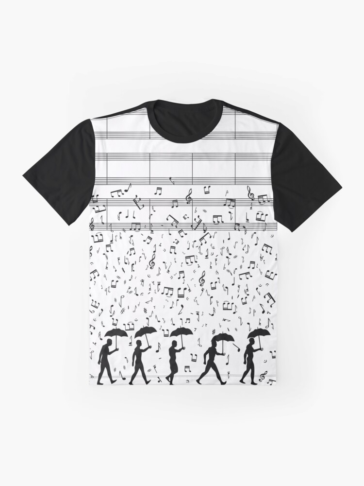 Alternate view of Singing in the Raaaain Graphic T-Shirt