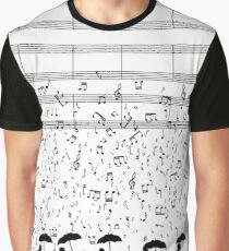 Singen im Raaaain Grafik T-Shirt