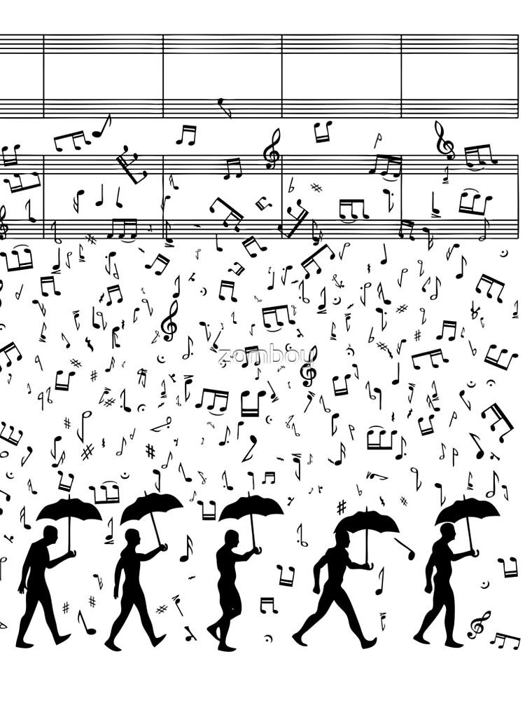 Singing in the Raaaain by zomboy