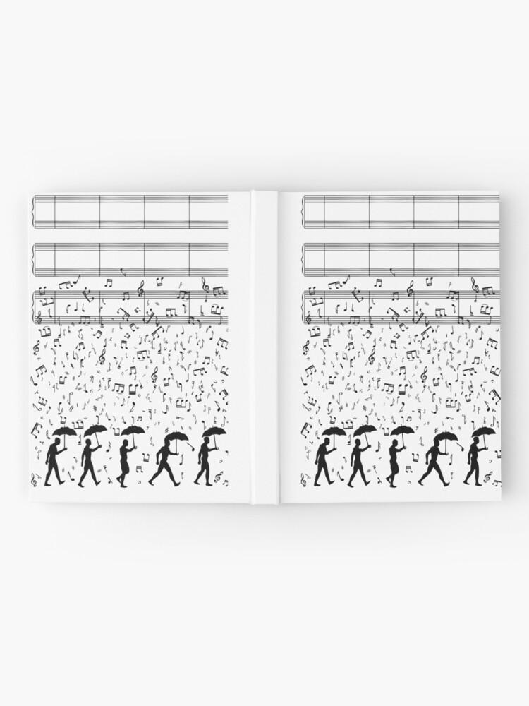 Alternative Ansicht von Singen im Raaaain Notizbuch