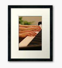 Piano Duet Framed Print
