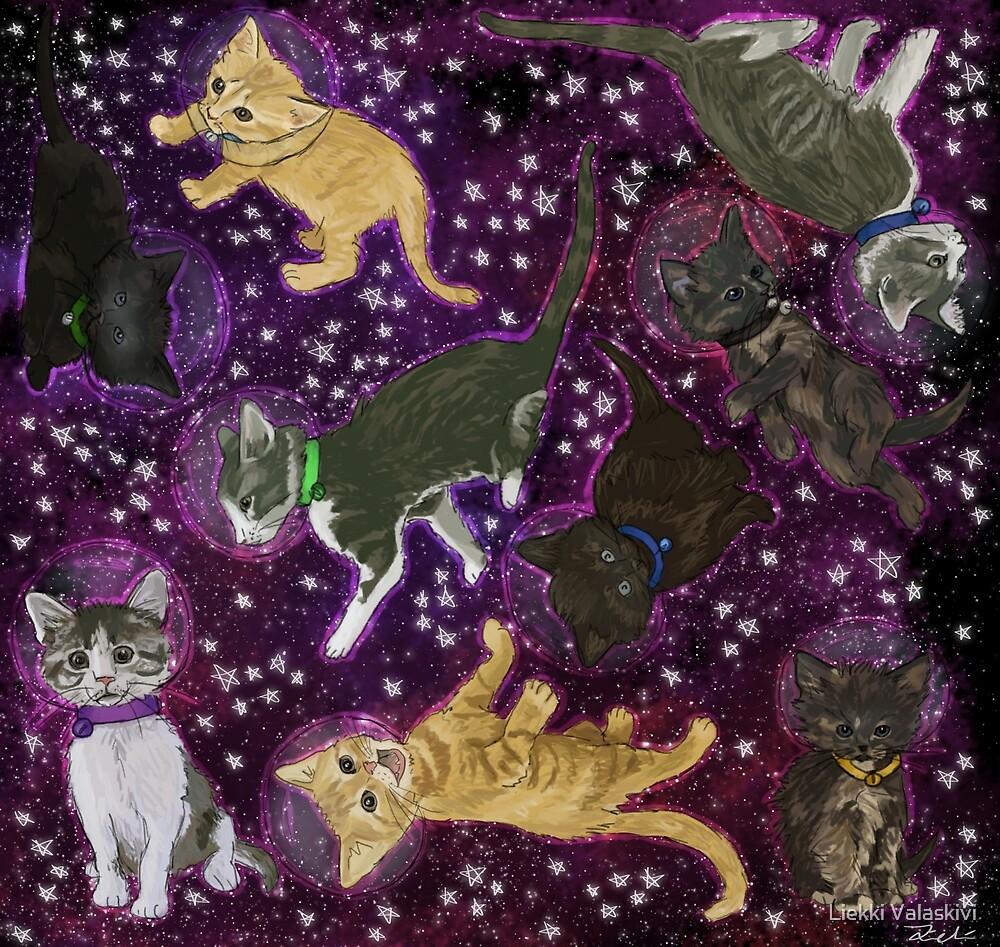 Space Kittens by Liekki Valaskivi
