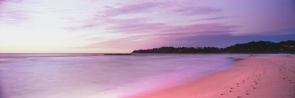 first light Narrawallee Beach - South Coast NSW by Steve Fox