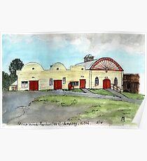 Kempsey Historic Showground Pavilion, Kempsey, NSW, Aus. Poster