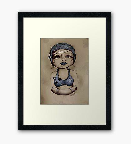 Bather Framed Print