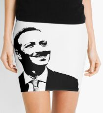 """Senator We Run Ads"" Zucks Funny Mini Skirt"