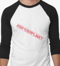 Non-Compliant Men's Baseball ¾ T-Shirt