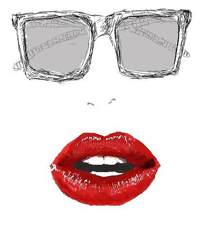 My sunnies, your lips by noki