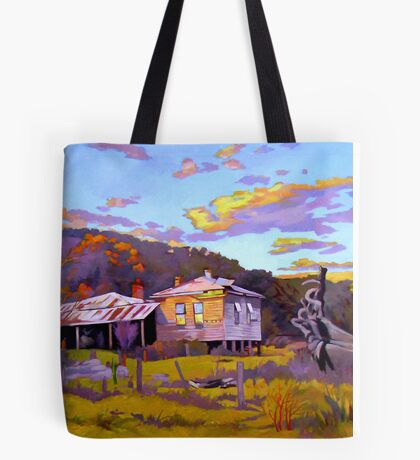 Deserted House at Payne's Crossing Tote Bag