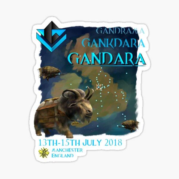 Gandara 2018, Manchester Sticker