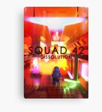 Squad 42: Dissolution Poster Canvas Print