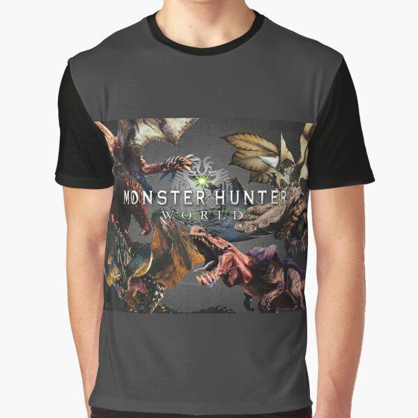 monster hunter world Graphic T-Shirt