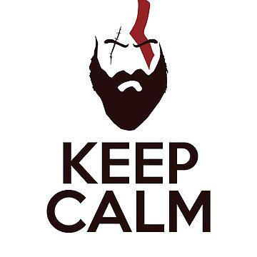 Kratos - God of War by Elkin