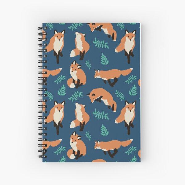 Fox style Spiral Notebook
