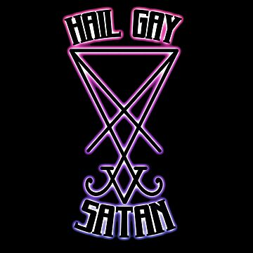 Hail Gay Satan by Winneganfake