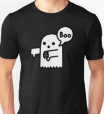 Disapproving Ghost Slim Fit T-Shirt