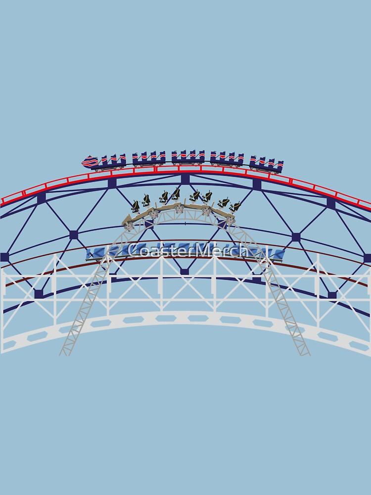 BPB Coaster Race - 3 Iconic Pleasure Beach Rides by CoasterMerch