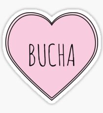 Bucha Heart Sticker
