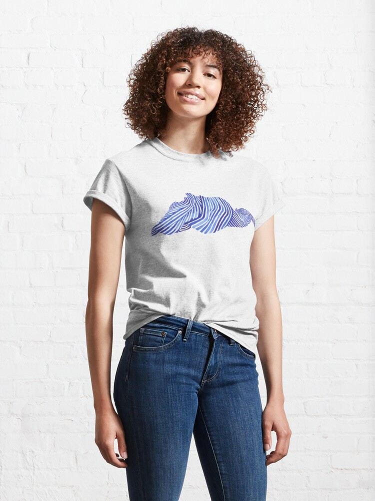 Alternate view of Waves Classic T-Shirt