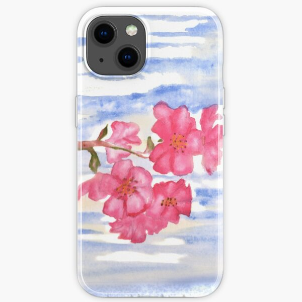 Cherry Blossoms iPhone Soft Case