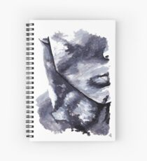 The Grey Man Painting Spiral Notebook