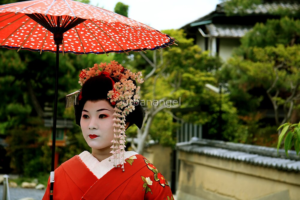 Meiko in Kyoto by urbanangel