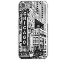 Chicago in Black and White iPhone Case/Skin