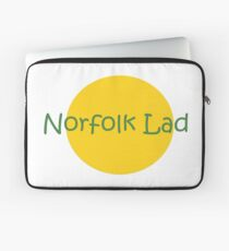 Norfolk Lad green and yellow Laptop Sleeve