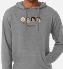 The Supremes (black text/white background) Lightweight Hoodie