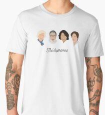 The Supremes (black text/white background) Men's Premium T-Shirt