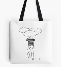 Head in the Clouds Drawing Tote Bag