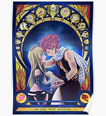 Natsu and Lucy Poster