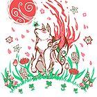 Wolf Blossom Breeze by TechraNova
