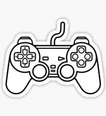 Minimalist Playstation Controller Sticker