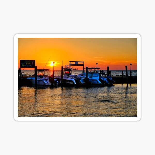 Sunset in Marathon, Florida Sticker