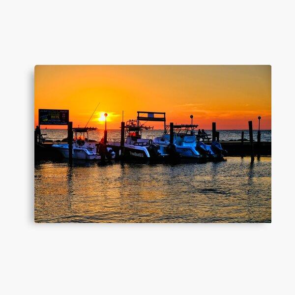 Sunset in Marathon, Florida Canvas Print