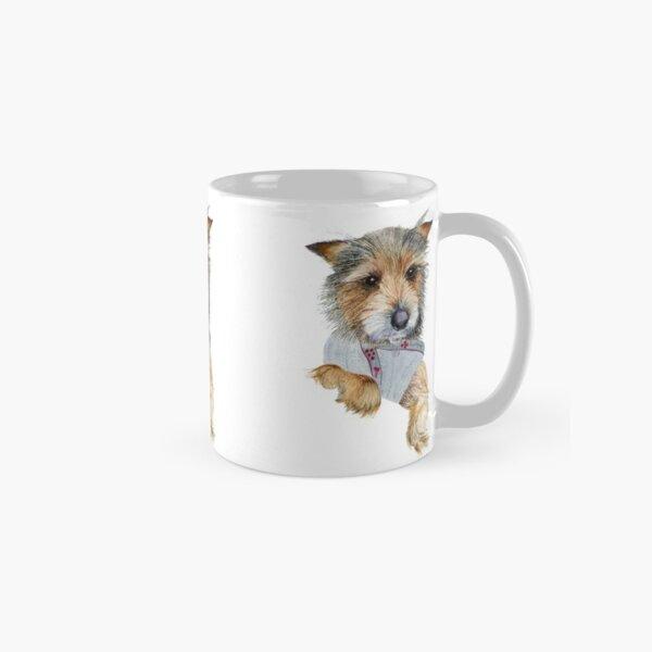 Yorkshire Terrier Dog Watercolor Painting Pet Artwork Classic Mug