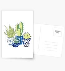 Chinoiserie Cactus Postcards