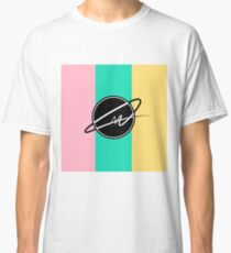 MARTY OFFICIAL MUSIC - pastel colour logo Classic T-Shirt