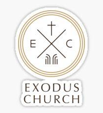 Exodus Seal - dark letters Sticker
