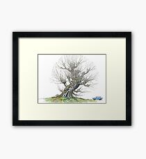 The Whomping Willow Framed Print