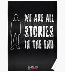 Doctor Who: We are all stories in the end Poster