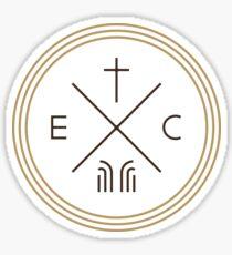 Exodus Seal only - dark letters Sticker