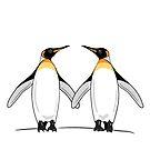 Penguin Pair by Adam Regester
