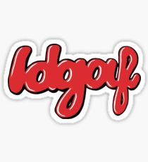 dua lipa idgaf Sticker
