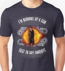 Doctor Who Burning a Sun T-Shirt