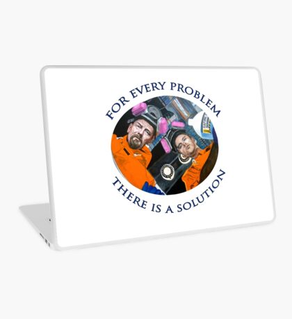 For Every Problem Laptop Skin