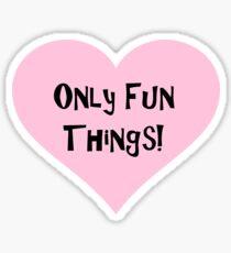 OFT Full Name Heart Sticker