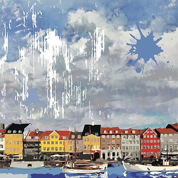 Nyhavn by aloudercharm