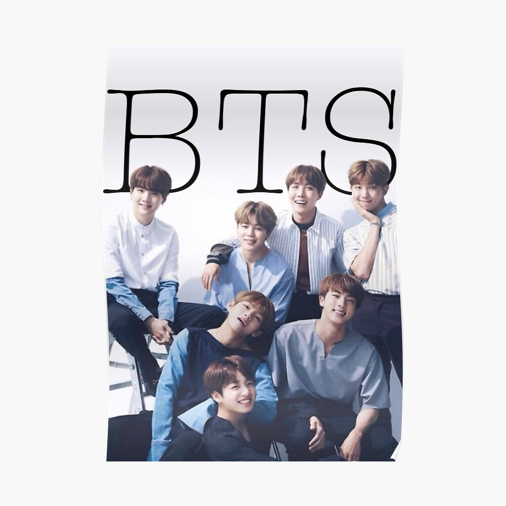 """BTS POSTER"" Poster By Snowf-snowj"